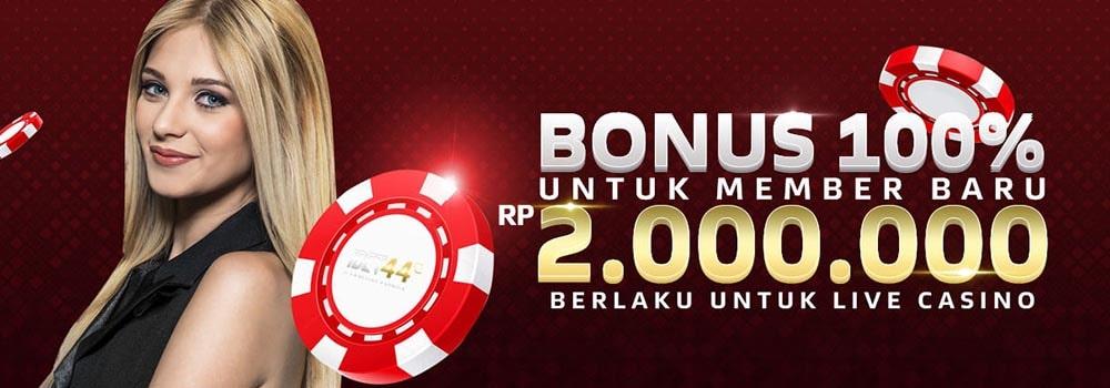 bonus live casino ibet44