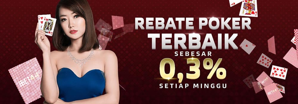 bonus rebate poker ibet44