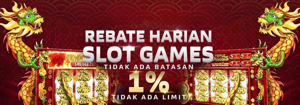 bonus rebate slot games ibet44
